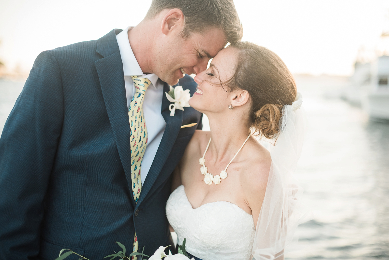 Long Beach Yacht Club Wedding Just Married