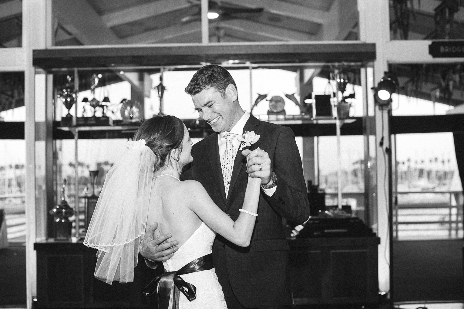 Long Beach Yacht Club Wedding First Dance