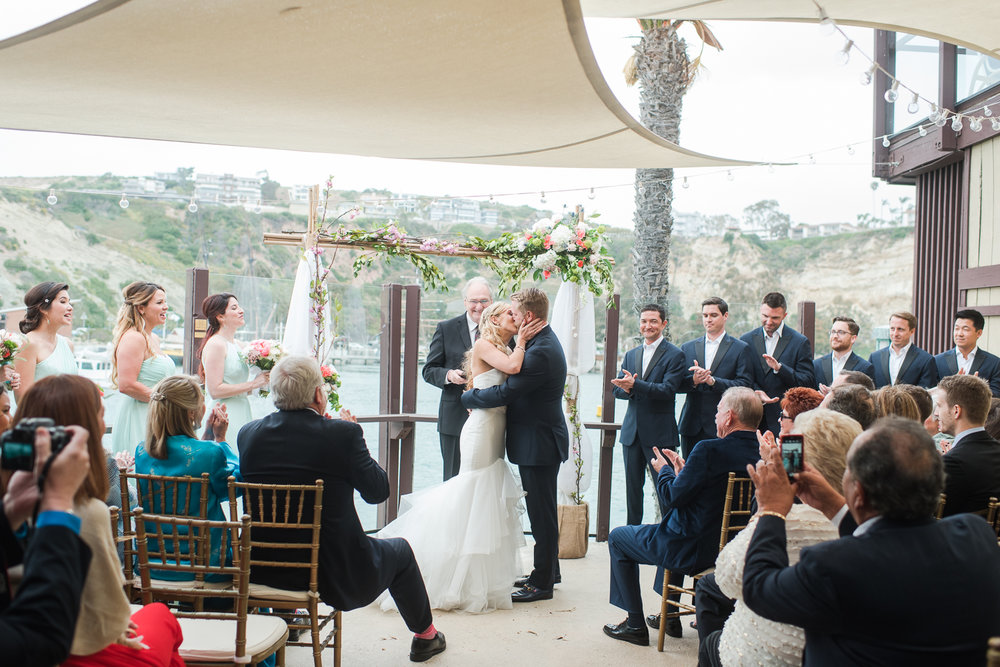 Dana Point Harbor Wedding Ceremony