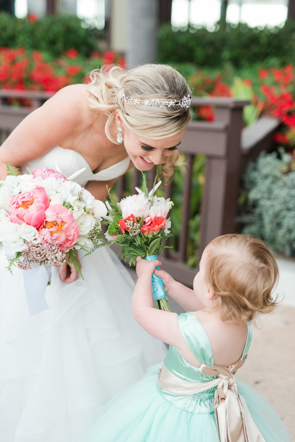 Dana Point Harbor Wedding Flower Girl