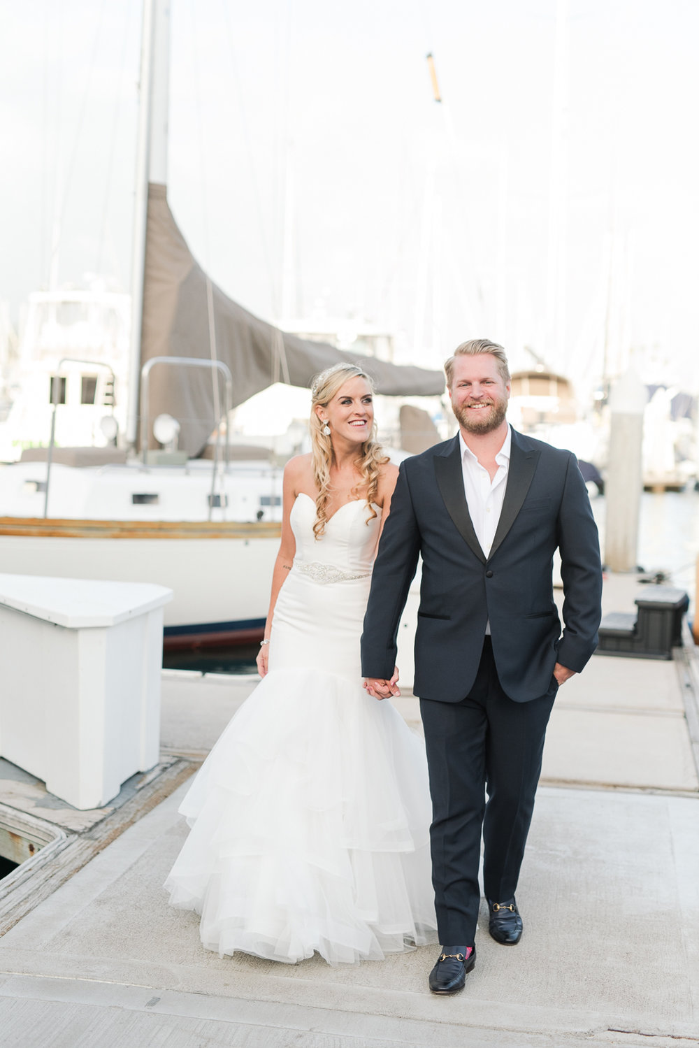 Dana Point Harbor Wedding Yacht Club