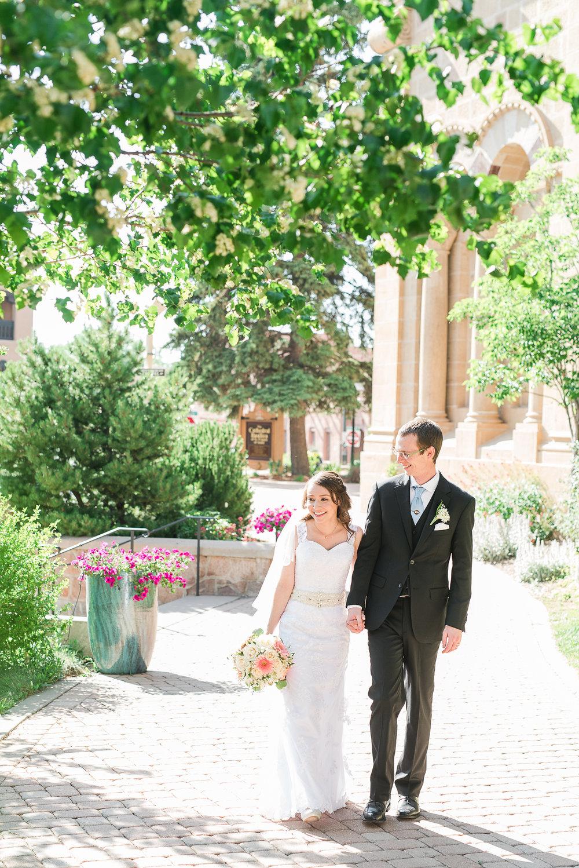 Santa Fe New Mexico Wedding at La Fonda - Desiree + daniel