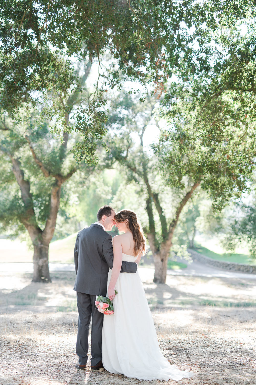 Mt. Woodson Castle Wedding // Brandi Welles Photographer // First Look