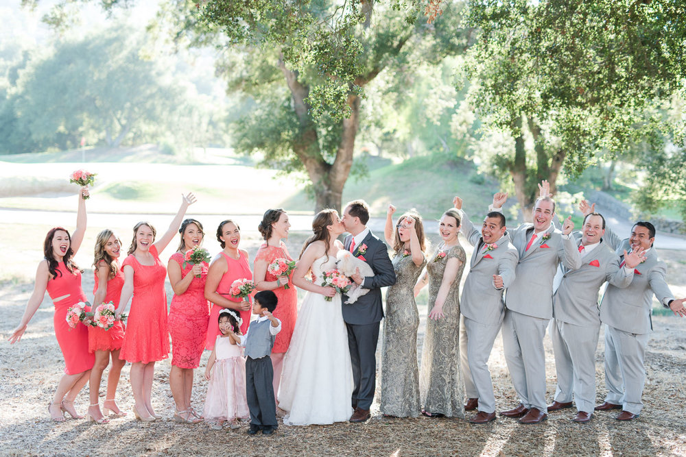Mt. Woodson Castle Wedding // Brandi Welles Photographer // Bridal Party