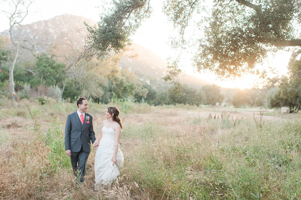 Mt. Woodson Castle Wedding // Brandi Welles Photographer