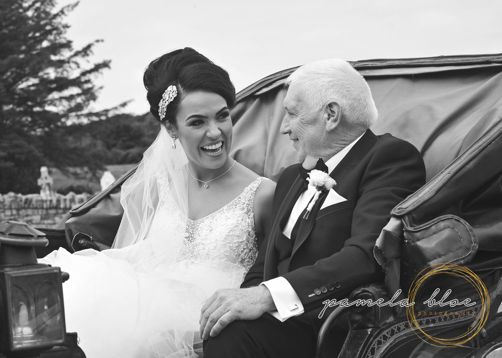 horse-and-carriage-father-daughter-wedding-day-team-bride-donegal-wedding