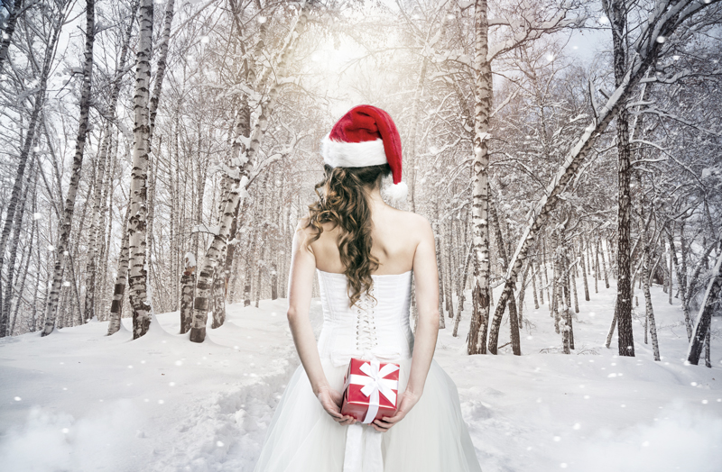 Christmas is the best time of year to get married!  CLICK TO READ