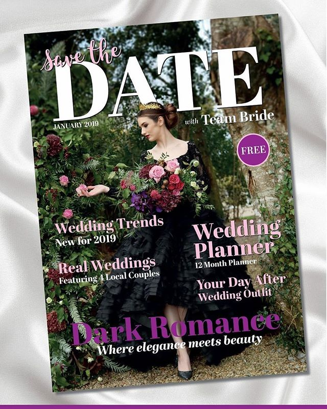 Excitement level = Off the chart 💯 After months of work our new Wedding Magazine is launching THIS SUNDAY! 'Save the Date with Team Bride' is a FREE magazine dedicated to bringing you advice and info to plan your dream Wedding in the Northwest!  Grab your copy this Sunday at The @mounterrigalhotel Wedding Fair with @savethedate_we from 2-5pm  Shoutout to the fab team who helped me make the cover shot such a beauty! More of this fab shoot inside the mag ❤️ Model @claudiamclaughlinpgh  Photographer @noirphotique  Venue @harveyspoint  Hair & Makeup @bdhairmakeup  Flowers @loveblooms_ie  Crown Silkabelle @rasa_kind  Dress @ronaldjoycebridal from @mcelhinneysbridalrooms  #savethedatewithteambride #donegalwedding #weddingmagazine #northwestwedding