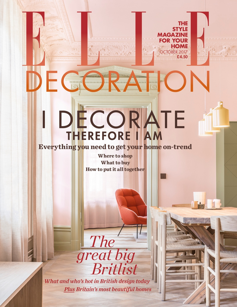 >> Elle Decoration Oct 2017