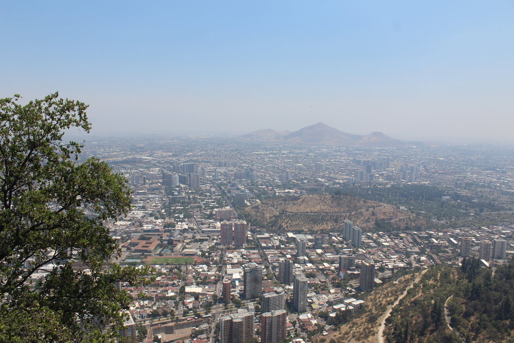 Santiago, atop San Cristobal