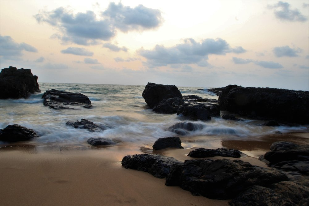 Sunset on Anjuna