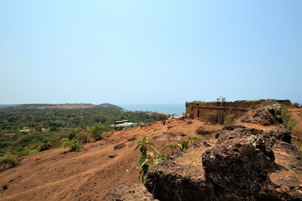 View of Chapora Fort