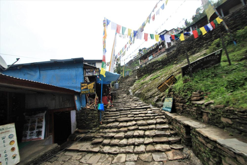 Chomrong Village