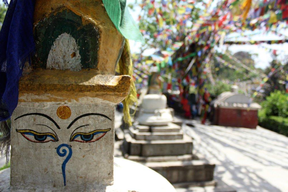 Buddha Eyes at Monkey Temple