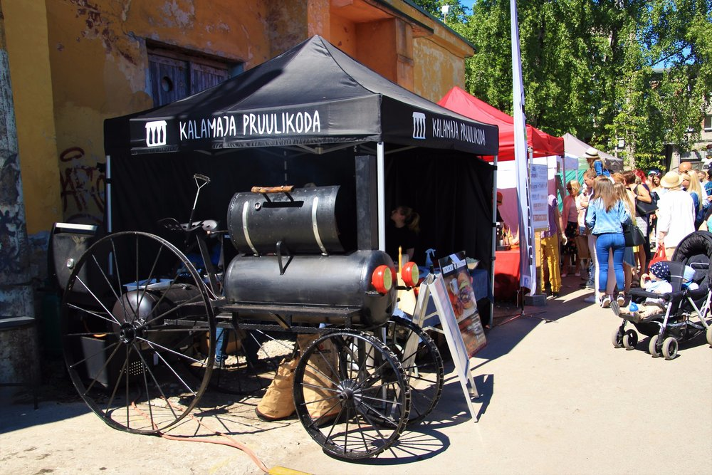 Smoker Food Truck