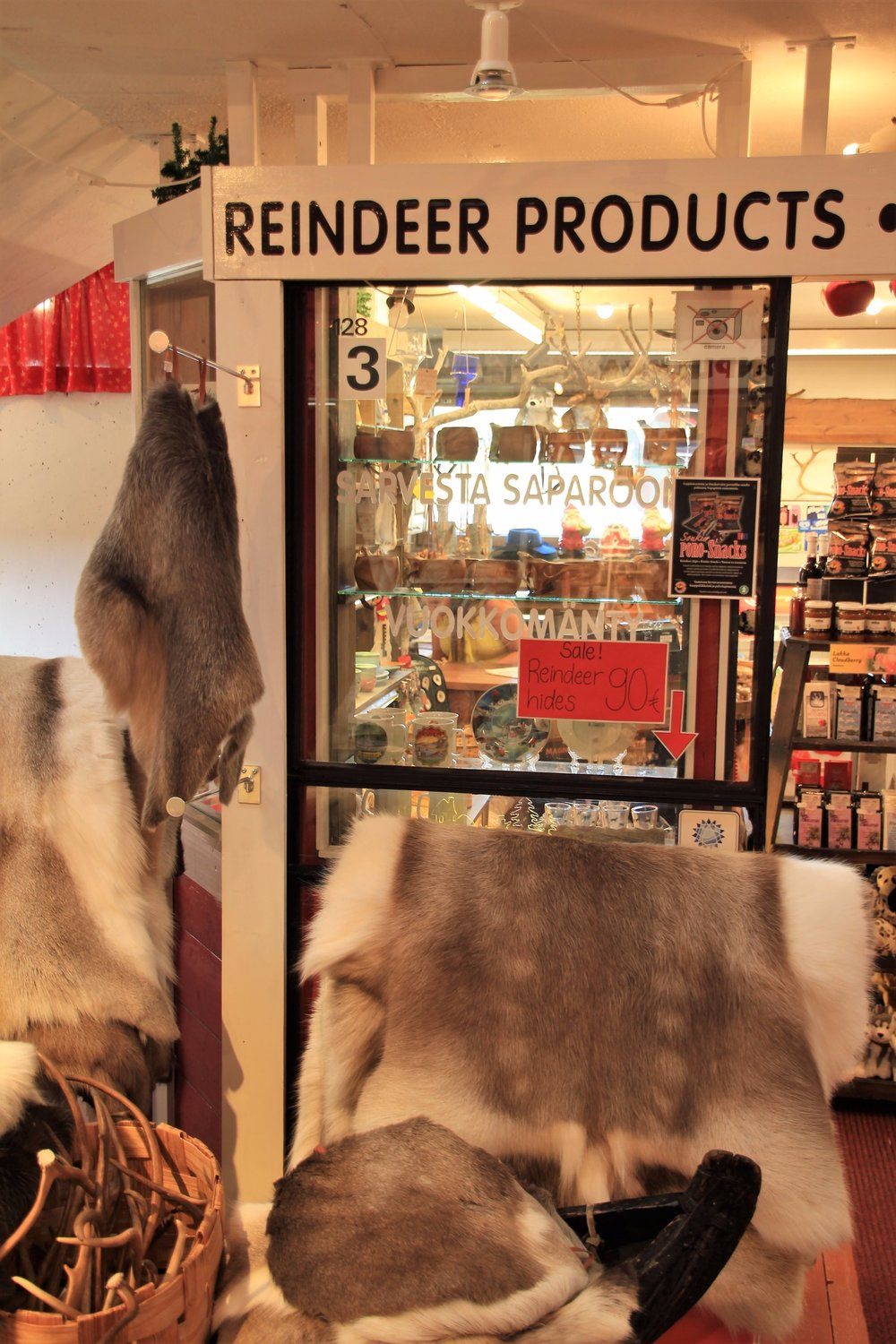 Local Reindeer...souvenirs