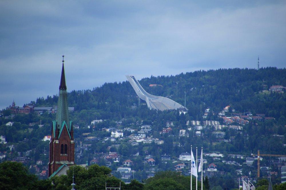 Oslo ski jump