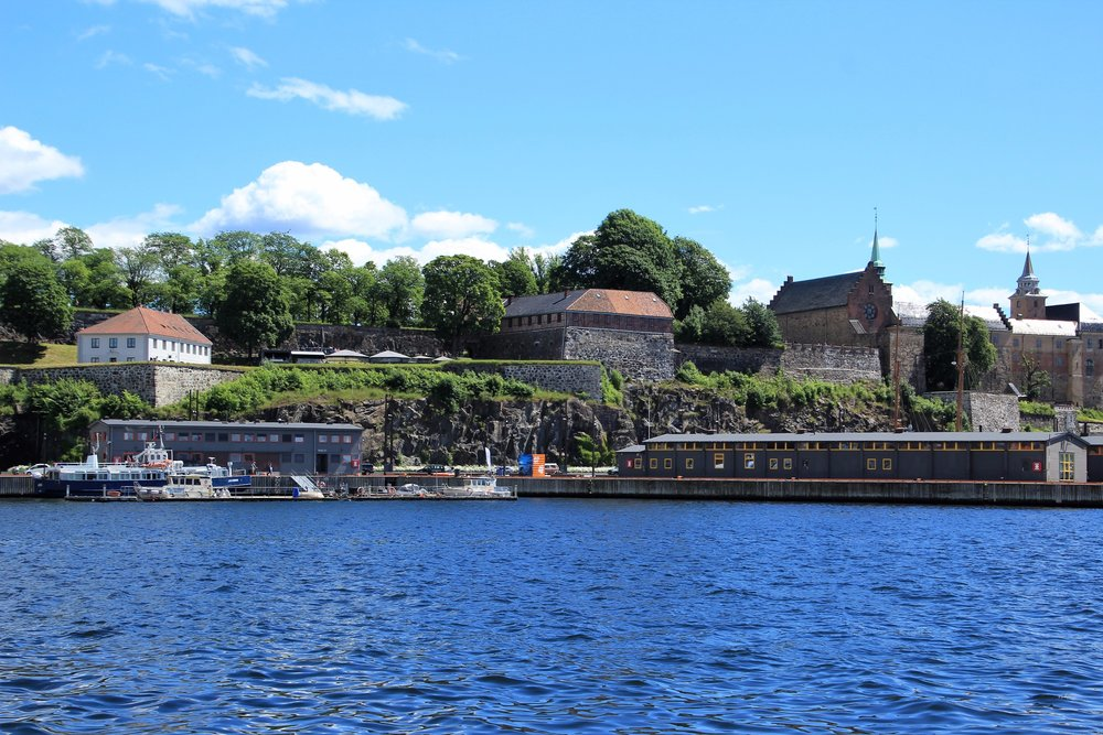 Akershus from the ferry