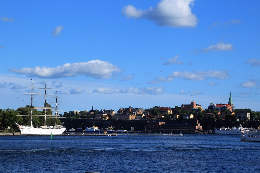 Sailboat on Djurgarden