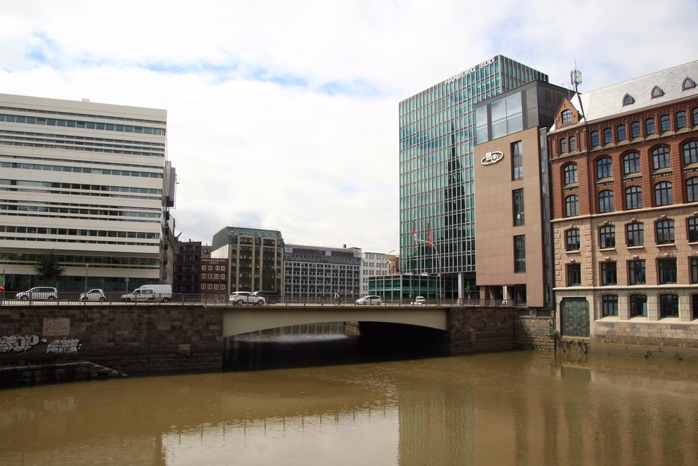 Canals and Bridges in Hamburg