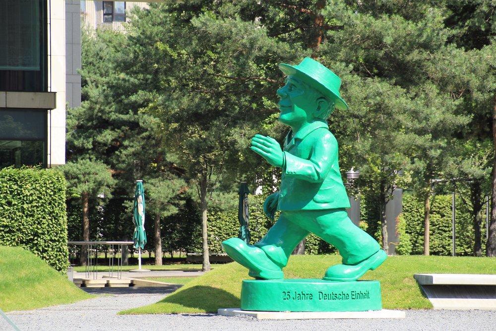 Giant Ampelmann Statue