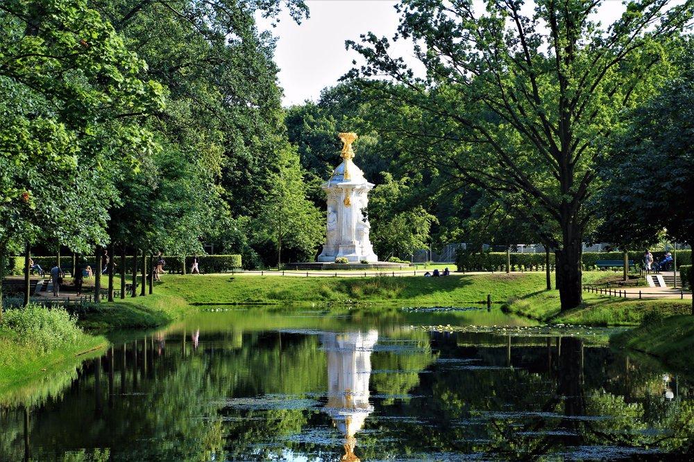 Tiergarten fountain