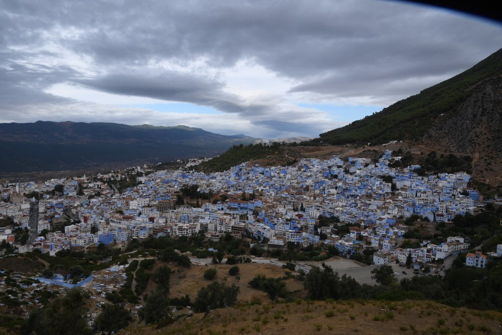 view from the Spanish Mosque