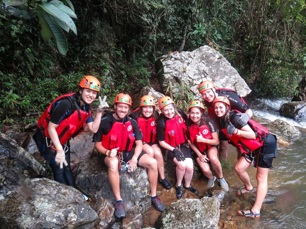Our adventure crew