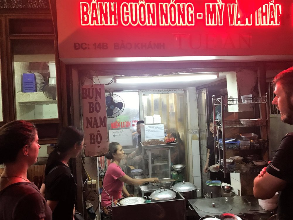 Night street food tour