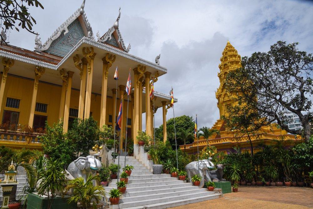 Wat Ounalom Inside