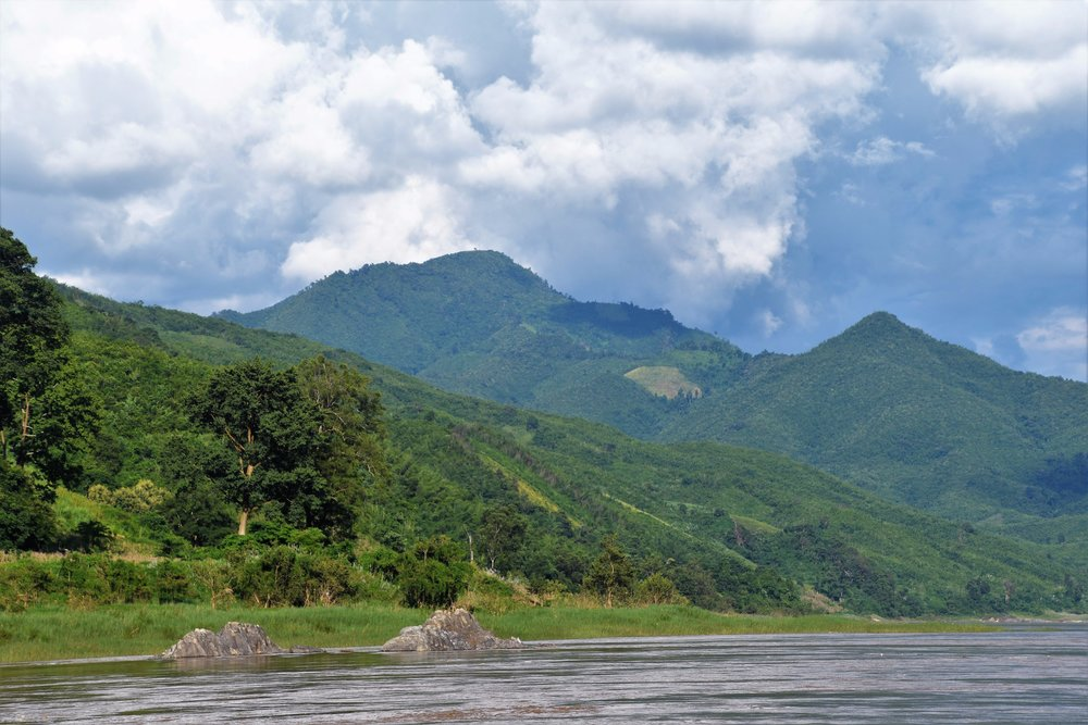 Beautiful mountains of Laos