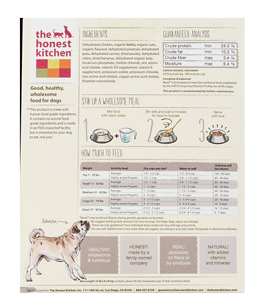 The Honest Kitchen Revel Dehydrated Dog Food — Tails Pet Boutique