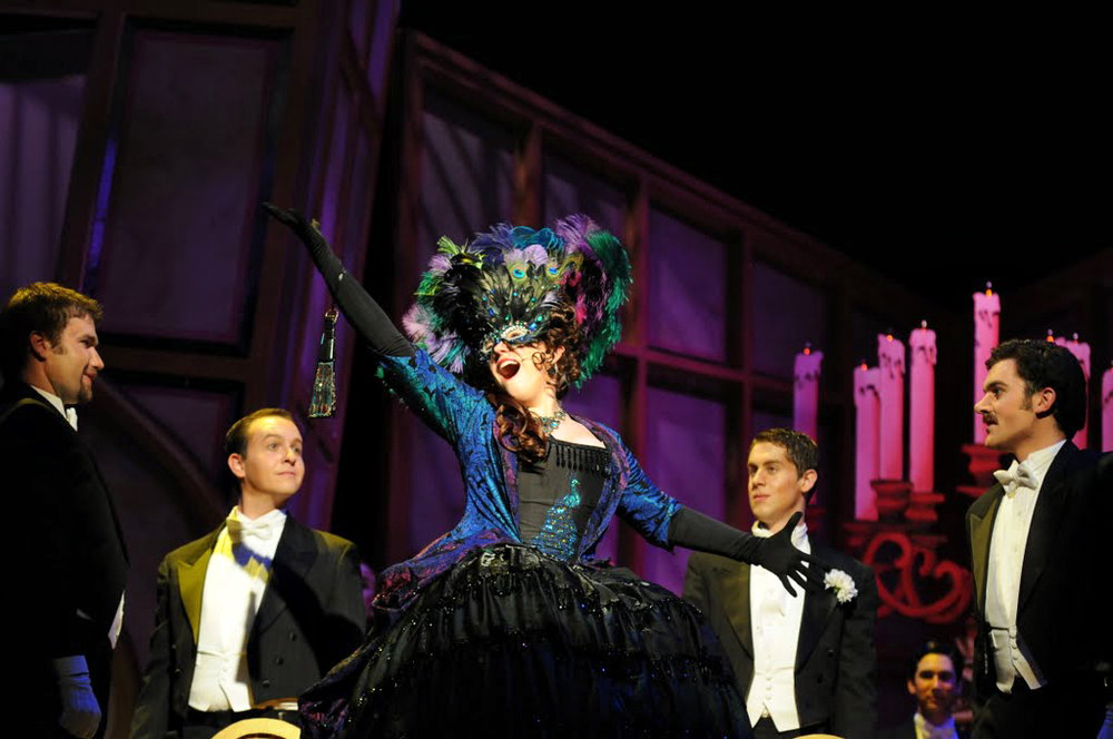 Die Fledermaus  at Brevard Music Center