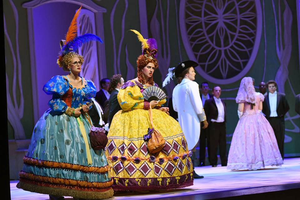 La Cenerentola  at Arizona Opera. Photo by Tim Trumple