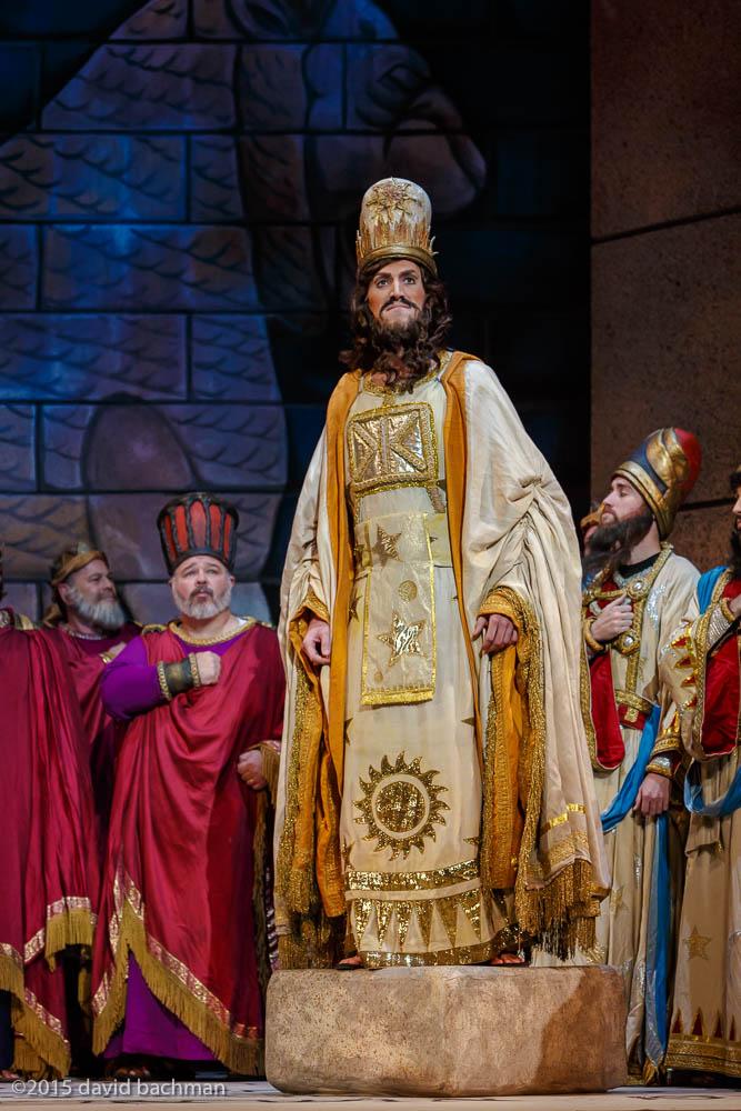 Nabucco  at Pittsburgh Opera. Photo by David Bachmann.