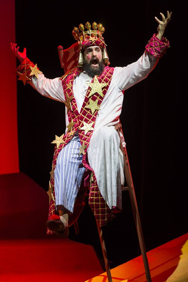Timothy Bruno as The King in Rachel Portman's  The Little Prince  at Washington National Opera