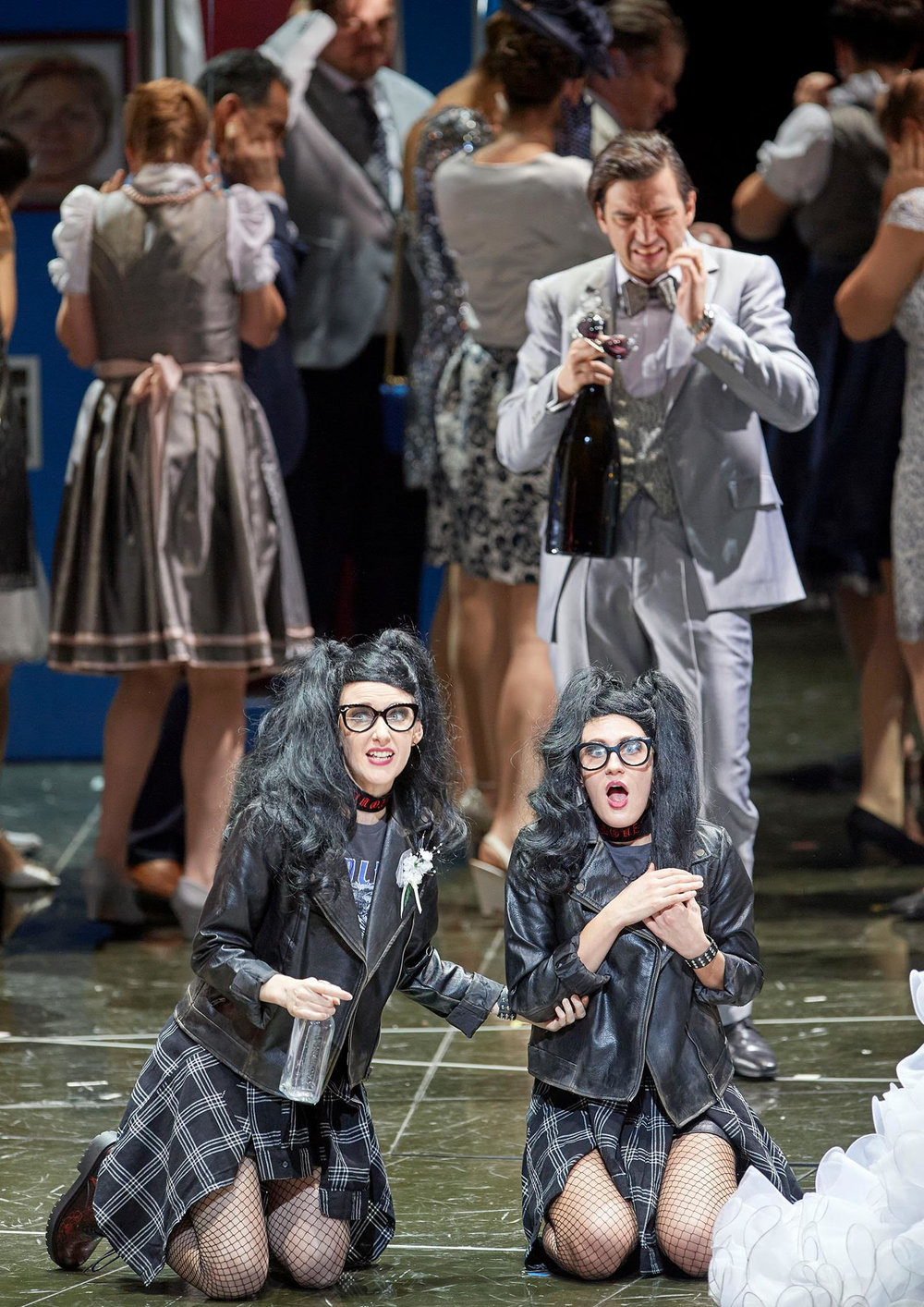 Die Wieden  (world premiere) at the Wiener Staatsoper, directed by Andrea Moses.