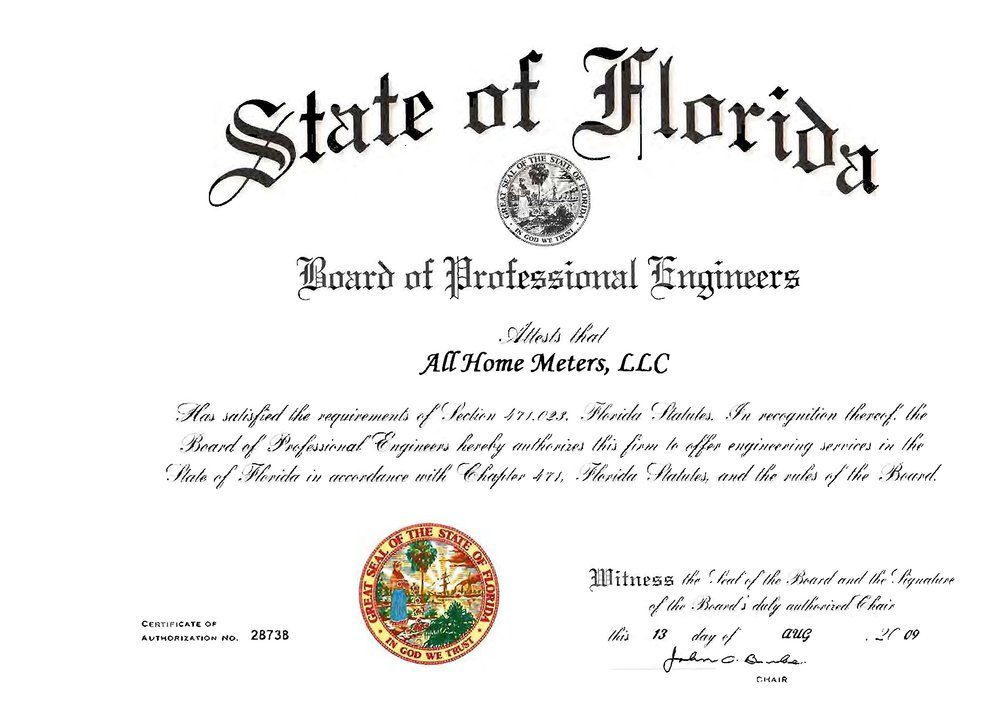 Flood Elevation Certificate Inspection Miami Dade