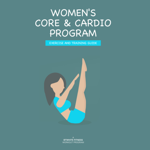 Womens Core Cardio Workout Program And Training Guide