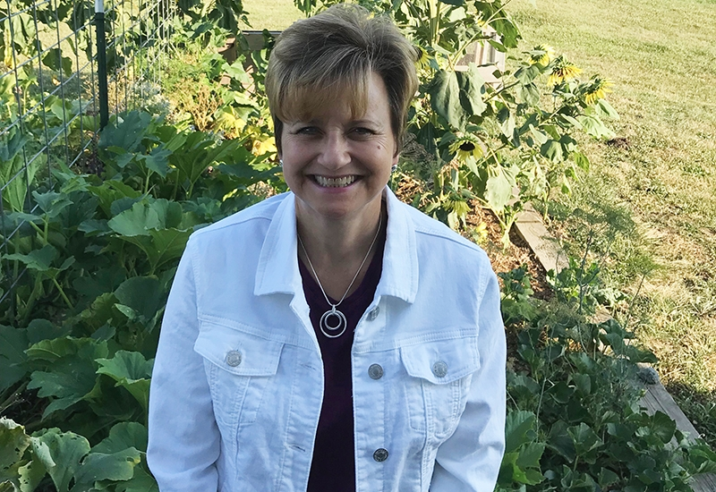 """""""Experiencing the Spiritual Exercises awakened my heart to the feminine flowing from the core of Christ: pouring out... pouring out: feeding, healing, attending; symbolizing all at the core of mothering. This connection with Jesus brings me great joy as I love my family and others in my life."""" —Tracy"""