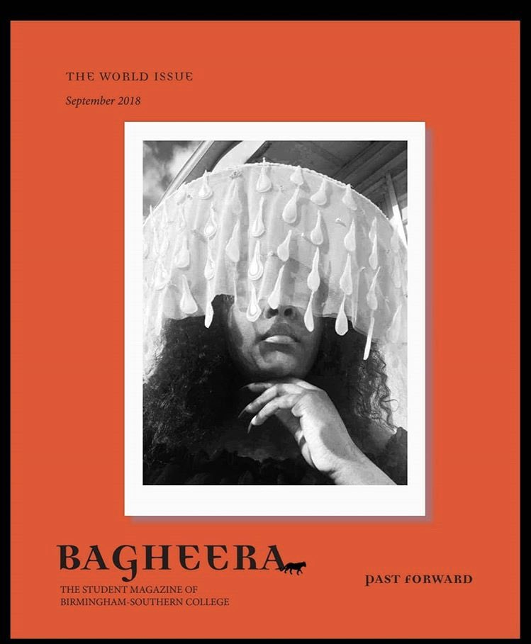 The September cover of Bagheera Student Magazine