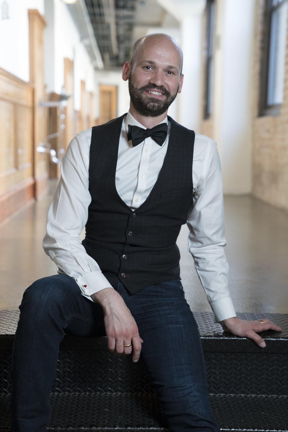 Matthew Sove, founder of gay ballroom Chicago