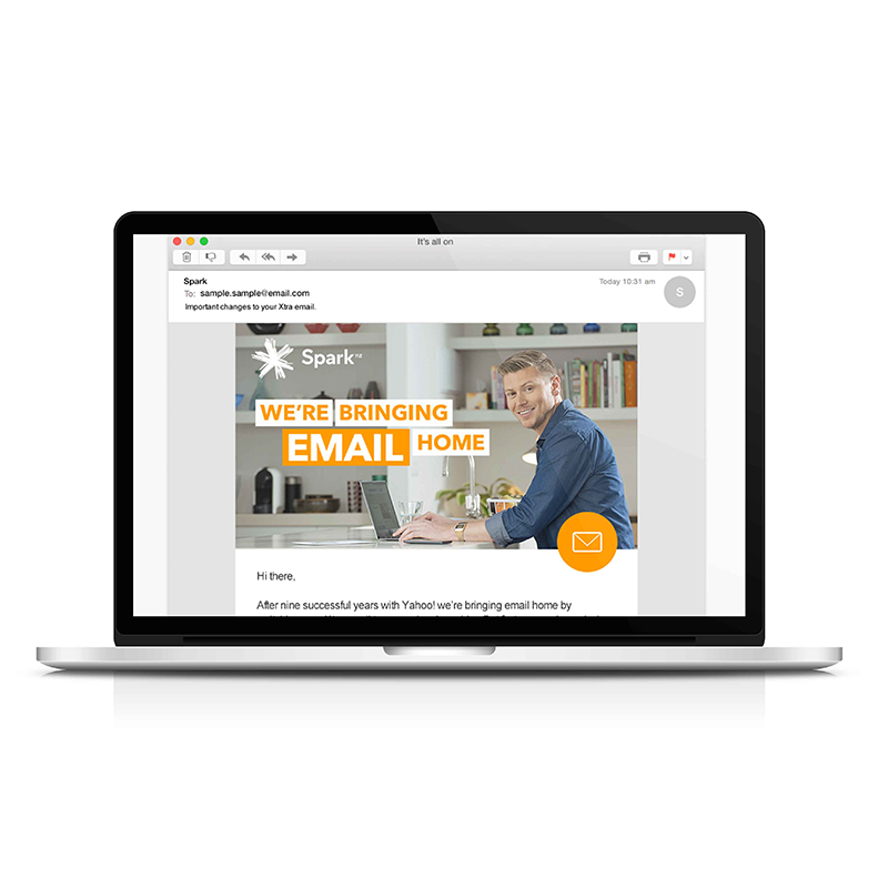 Spark - We're bringing email home. - View case study ⟶