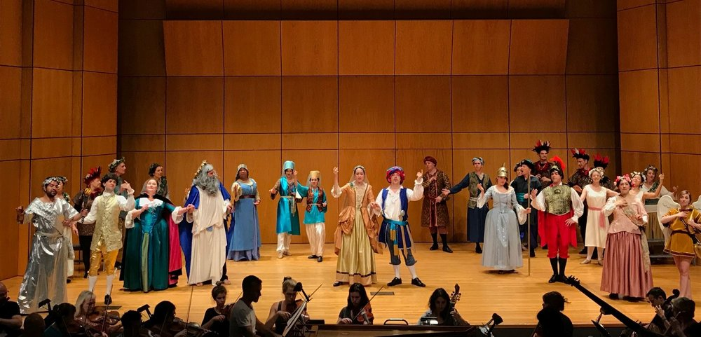 Lully's  Cadmus et Hermione,  Amherst Early Music Festival, 2018