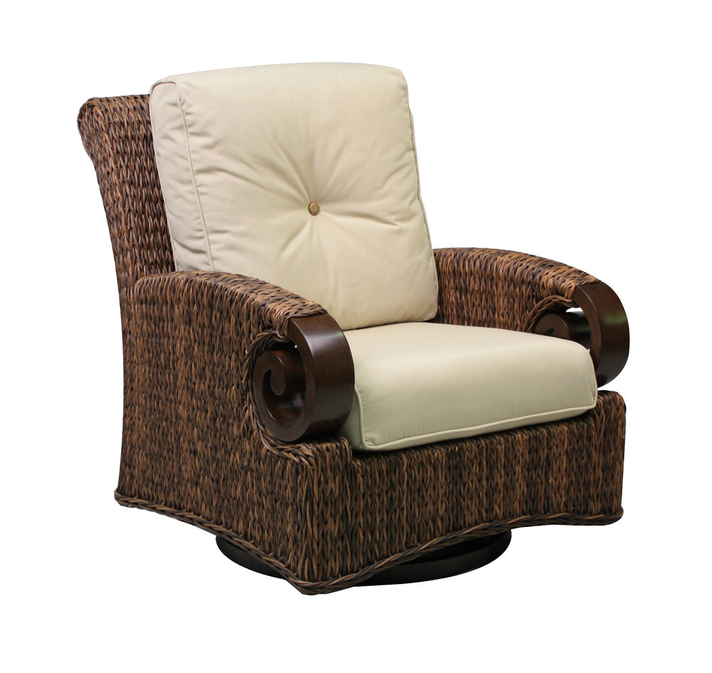 "973829 Antigua DS Swivel Glider                        33.1"" x  40.8""  x  38.9"""