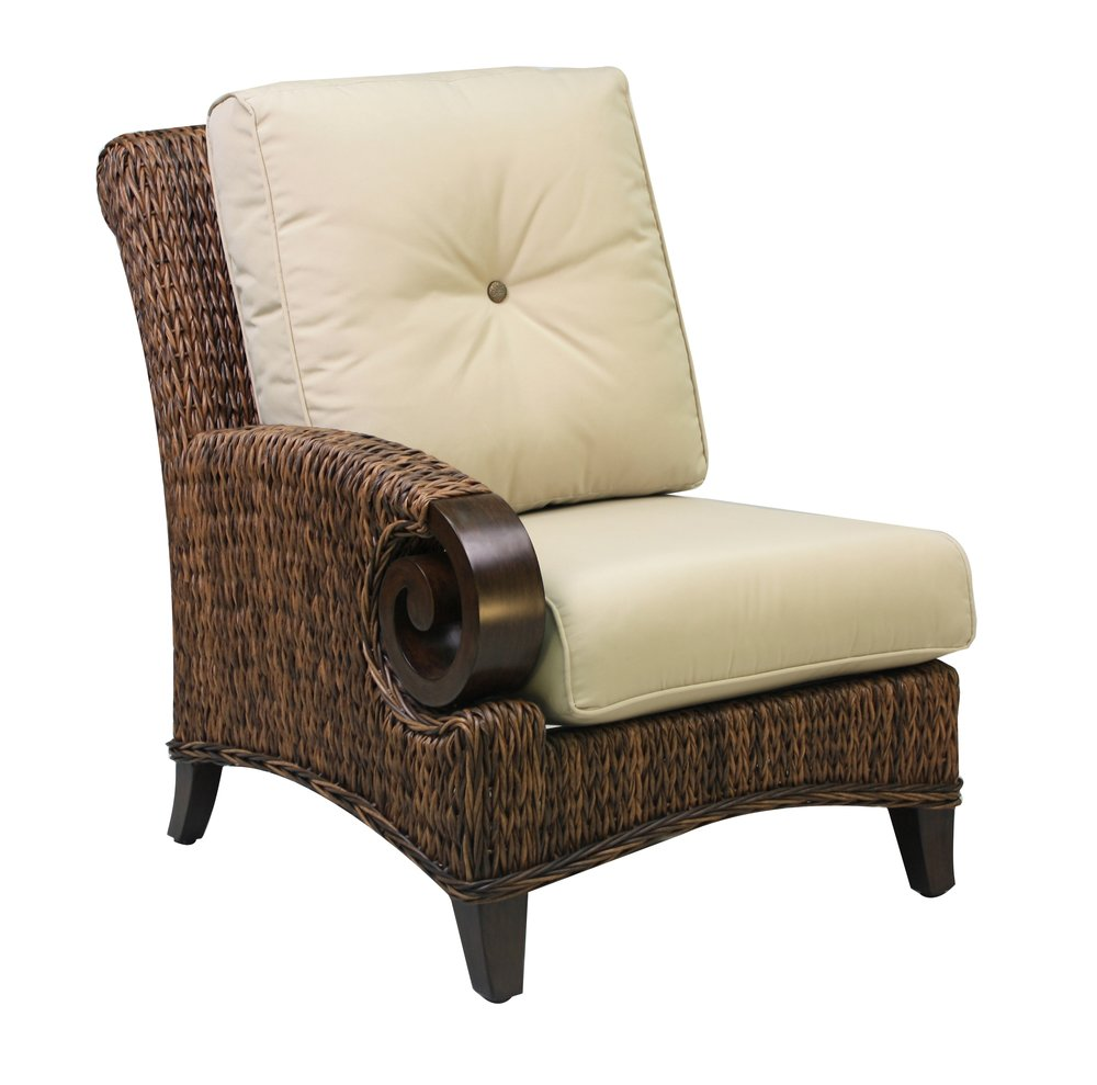 "973831L Antigua Left Corner Chair                     30.2"" x  40.8""  x  38.9"""