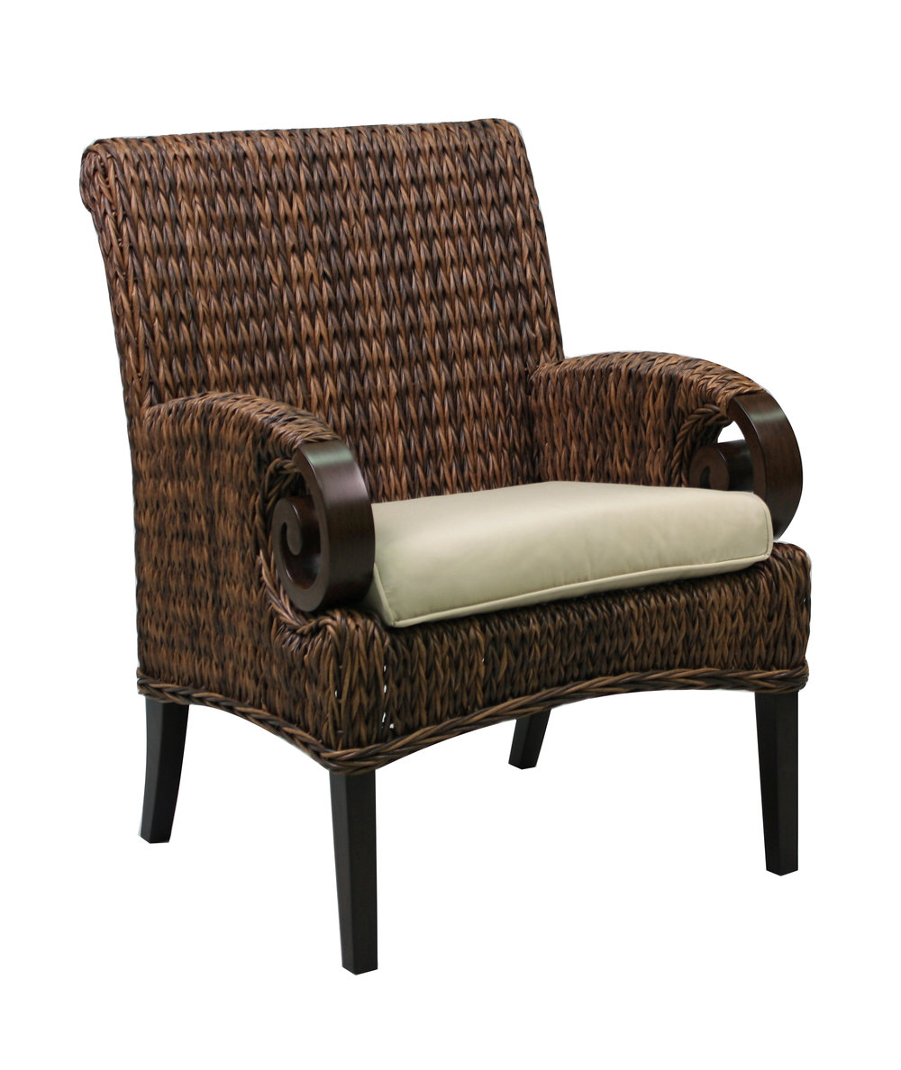 "973821 Antigua Dining Chair                       28.7"" x  26.5""  x  36.9"""