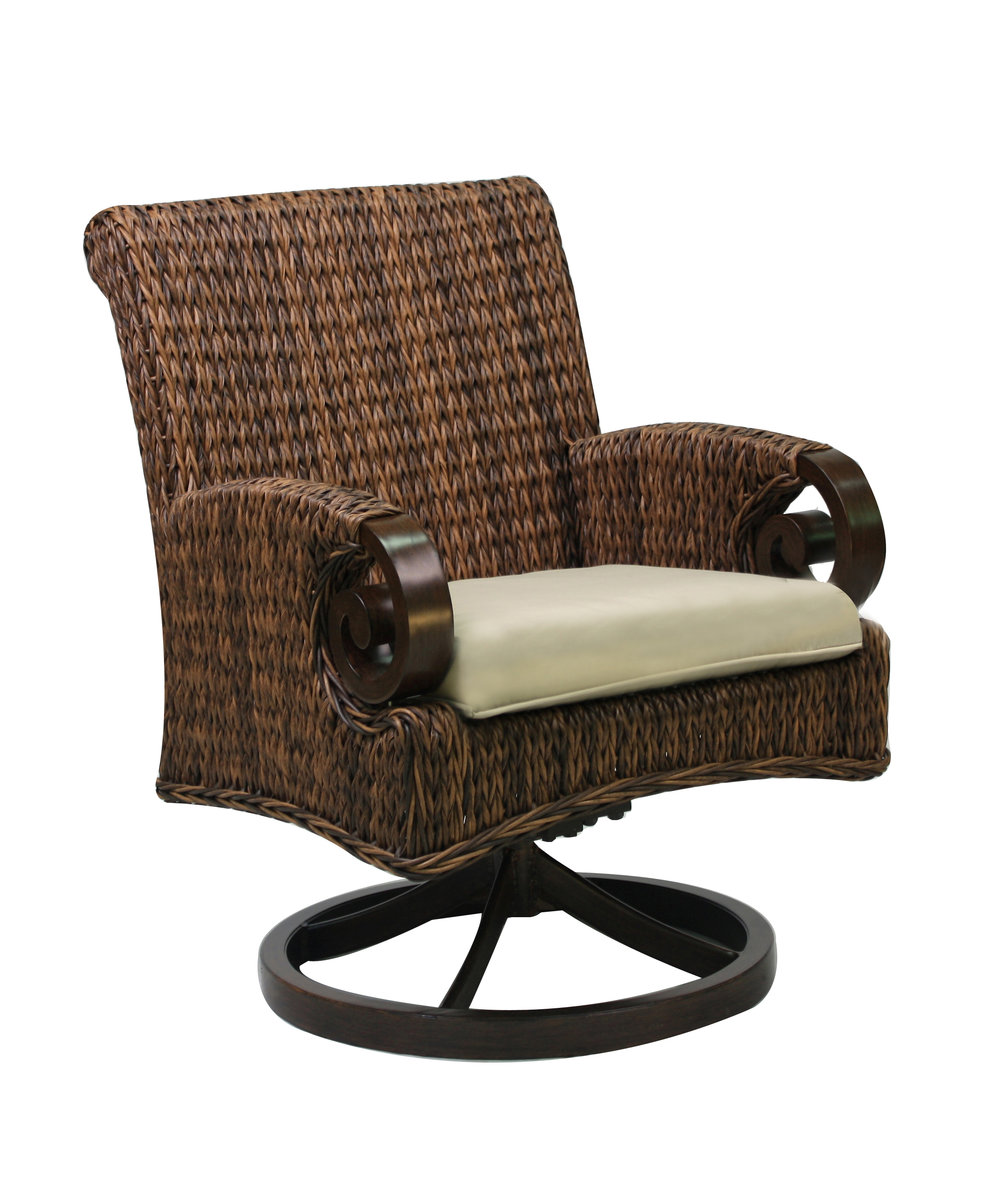 "973823 Antigua Dining Swivel Rocker                28.7"" x  26.5""  x  36.9"""