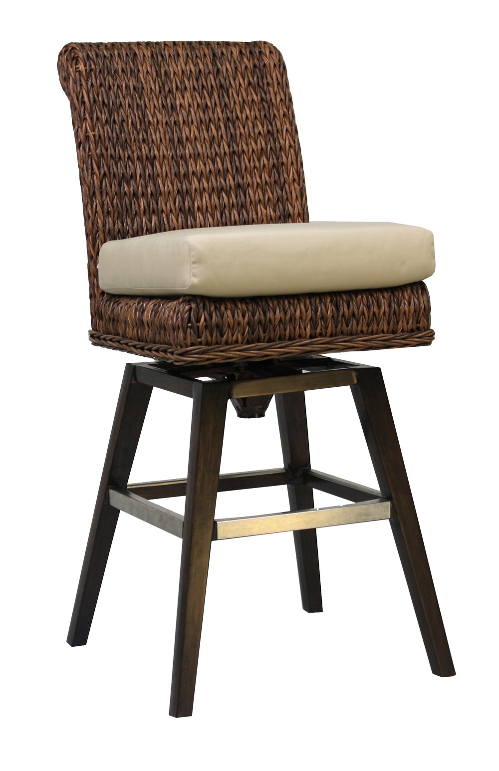 "973808 Antigua Swivel Bar Chair              25.75"" x  20.25""  x  45.5"""