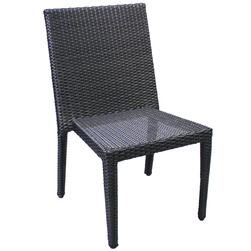 "891020 Del Mar Stackable Side Chair   21.1"" x 25.6"" x 34.3"""